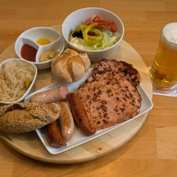 One of our platters
