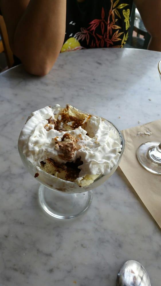 Finally the dessert tiramiso yummy yelp for Dead fish crockett