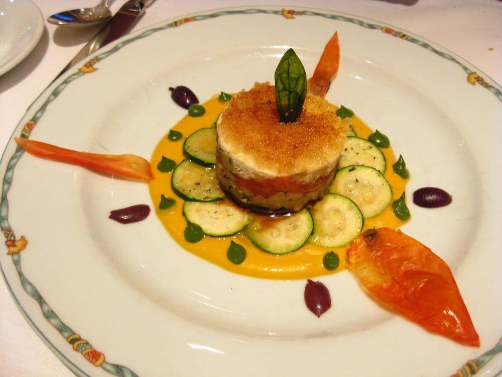 ... eggplant, artichokes, tomato confit, portobello mushrooms, and sauce