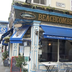 Beachcomber Seafood Restaurant, London