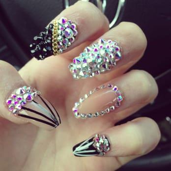 blue diamond nails  nail salons  ontario ca  reviews