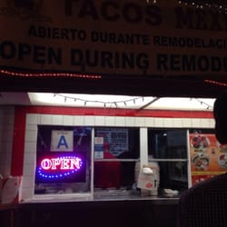 Tacos Mexico - open 24 hours. - Los Angeles, CA, Vereinigte Staaten