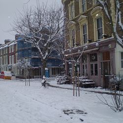 Landseer pub - winter time