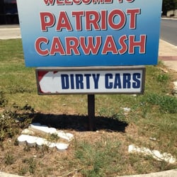 Patriot Car Wash logo