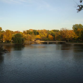 Herrington Inn & Spa - Geneva, IL, États-Unis. View of the Fox River from our balcony