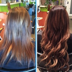 Tite Ends Hair Salon - Micro bead weft extensions. Cut and color. - West Hollywood, CA, Vereinigte Staaten