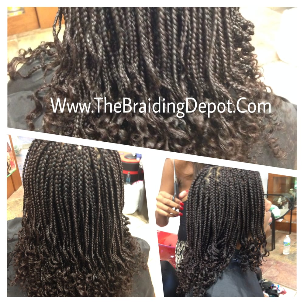Pin Box Braids With Curly Ends on Pinterest