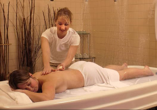 north quincy massage with table shower