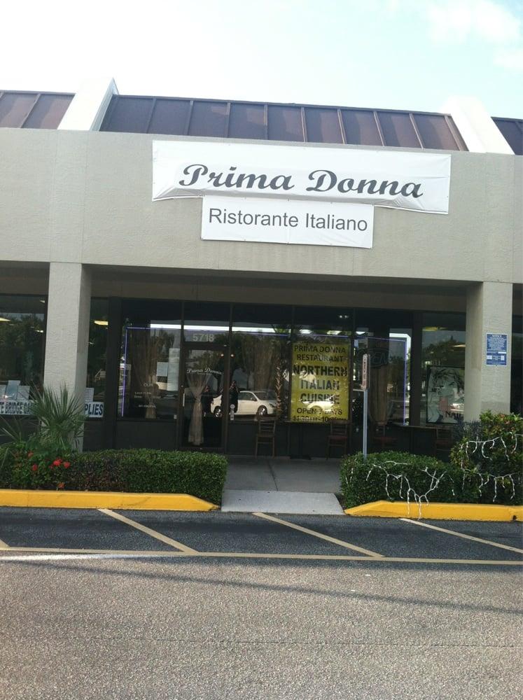 Prima donna ristorante italiano italienisches restaurant for Cortez motors bradenton fl