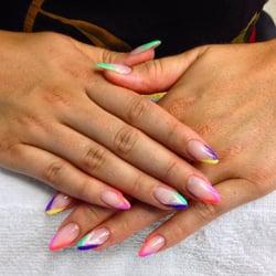 Nails & Spa Ltd - Toronto, ON, Canada. Biogel nails plus Shellac tips