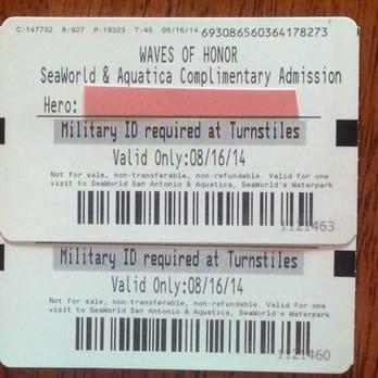 Mcdonald's san antonio sea world coupons