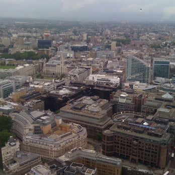 City of London view from Vertigo
