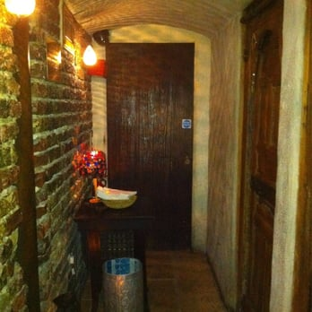 Downstairs restroom area - really a beautiful space.