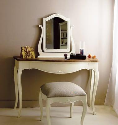 Mbar muebles paco escriv consola vintage blanca decap for Lanin muebles
