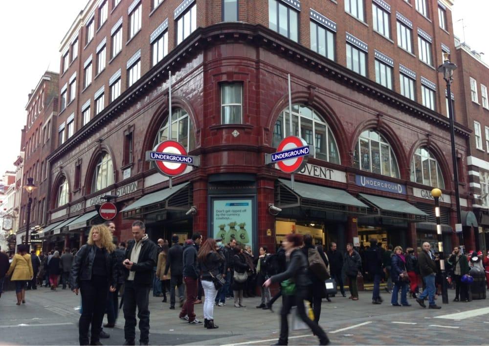 Covent Garden Tube Station Train Stations Covent Garden London United Kingdom Yelp