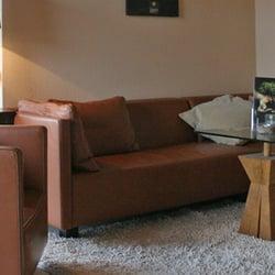 Wohnizmmer im Ferienhaus mit Teppich