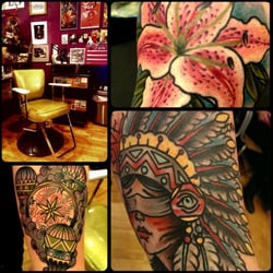 Horns tails tattoo parlor for Tattoo shop rochester ny