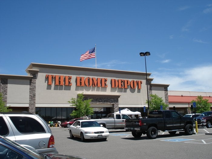 home depot location: