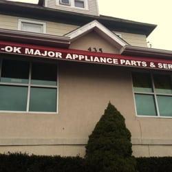 A Ok Appliance Service Same Day Service Amp Parts