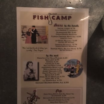 Owens fish camp 558 reviews 492 photos seafood for Fish camp menu