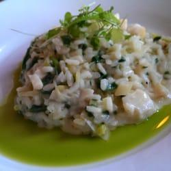 Leek, Spinach, & Haddock Risotto