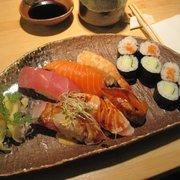 yummy nigiri and maki