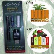 Wisekick eCigarette Starter Kit (Black)