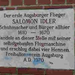 Salomon Idler, Augsburg, Bayern