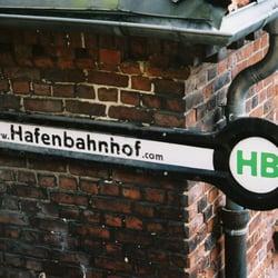 Hafenbahnhof, Hambourg, Hamburg, Germany