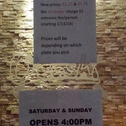 O'Sushi - New hours and pricing as of January 2014 - Hillsboro, OR, Vereinigte Staaten