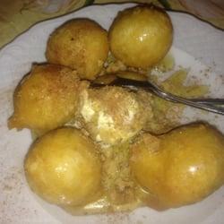 Loukoumades, Teigbällchen frittiert mit…