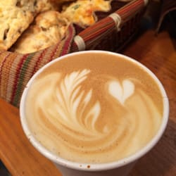 Flocon Espresso - Scones and Latte! - Montreal, QC, Kanada