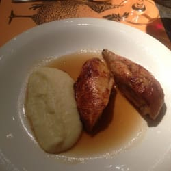 Sauteed poulet with Mashed Potatoes