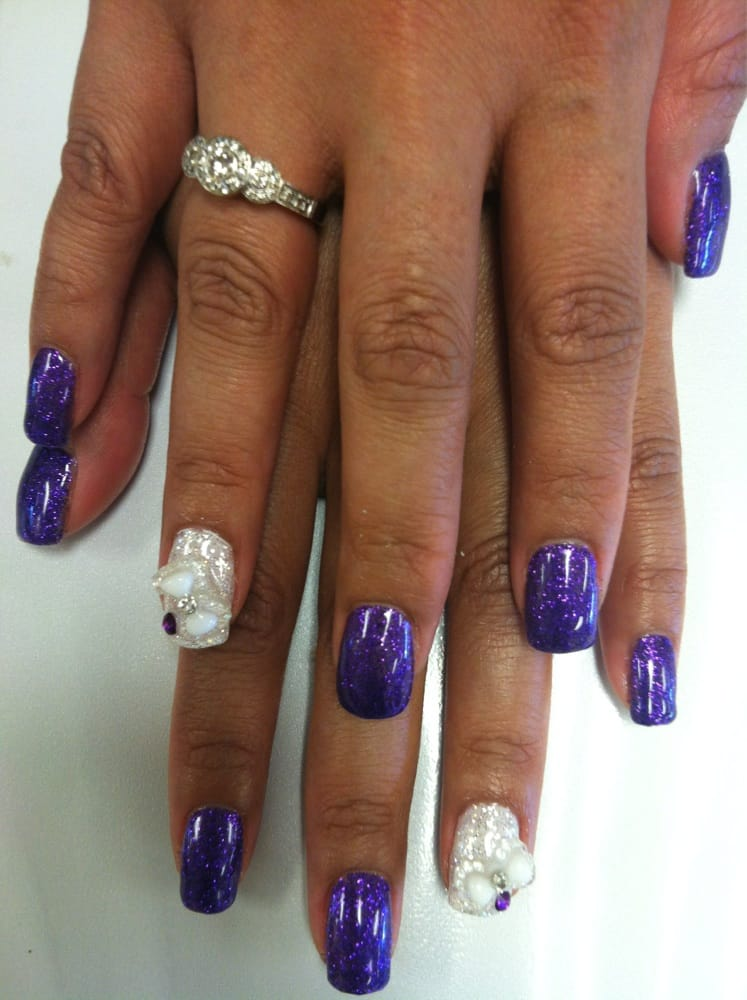 nails blue diamond las vegas