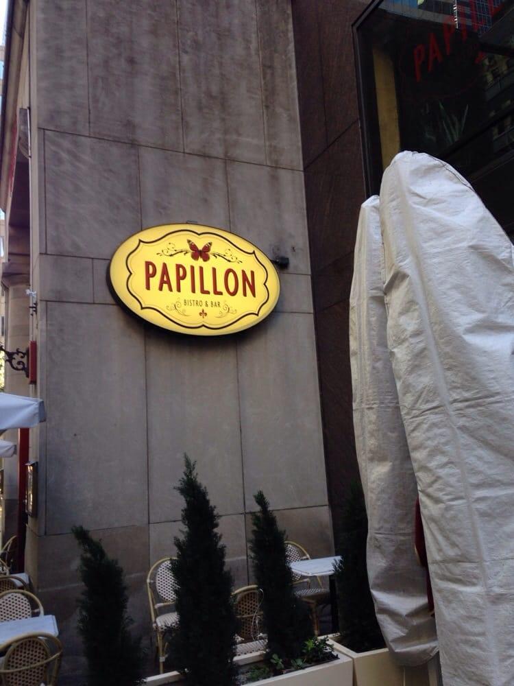 Papillon bistro bar 59 photos french restaurants for Papillon new york