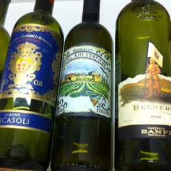 NEX Navy Exchange - CT, Catania, Italy. Sigonella labeled wine