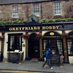 This is the front of Greyfriars Bobby.