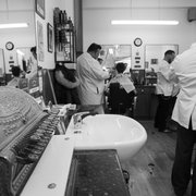 traditional barber shop with a twist