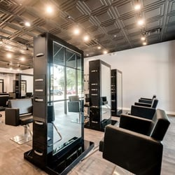 Modern luxe salon hair salons stonebriar commons for A luxe beauty salon