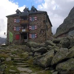 Nürnberger Hütte, Neustift im Stubaital, Tirol, Austria