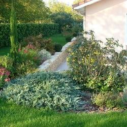 Jardin Blanc, St Hilaire du Rosier, Isère