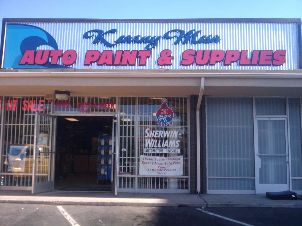 Kearny mesa auto paint supplies 39 photos auto parts for Automotive paint suppliers