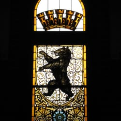 Der Berliner Bär im gläsernen Fenster…
