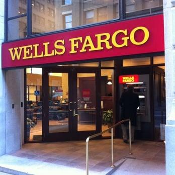 Wells Fargo Bank Closed Bank Building Societies Financial District San Francisco Ca