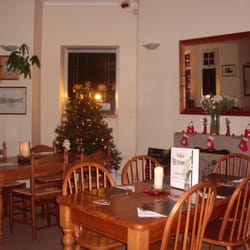 Christmas in the restaurant
