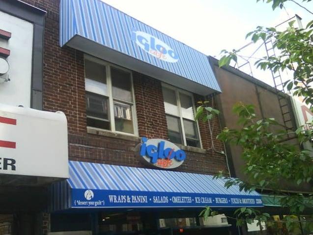 Igloo Cafe Astoria Ny Menu