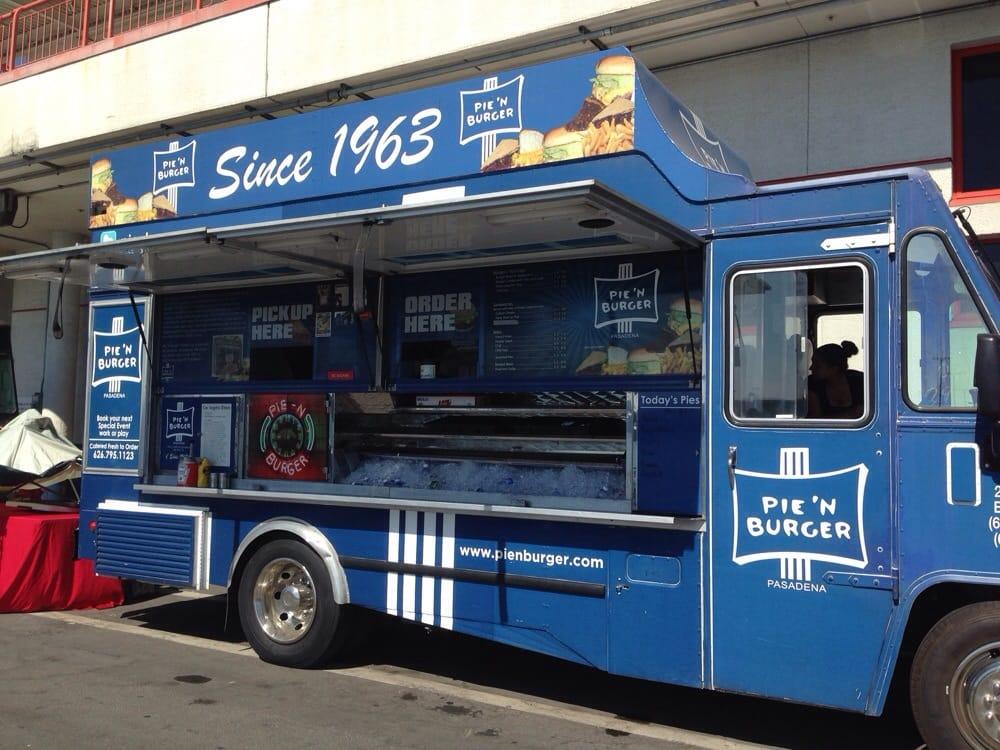 Pie N Burger Food Truck Pasadena Ca