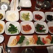 Seoul Gate Restaurant - Fairbanks, AK, États-Unis. Side dishes