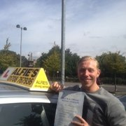 Well done to Terry who passed in Brentwood, thanks to Simon the instructor as well...
