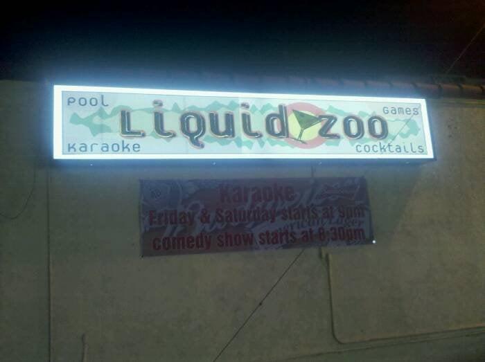 Liquid Zoo / Liquid Visions - Swamp Room Single Club